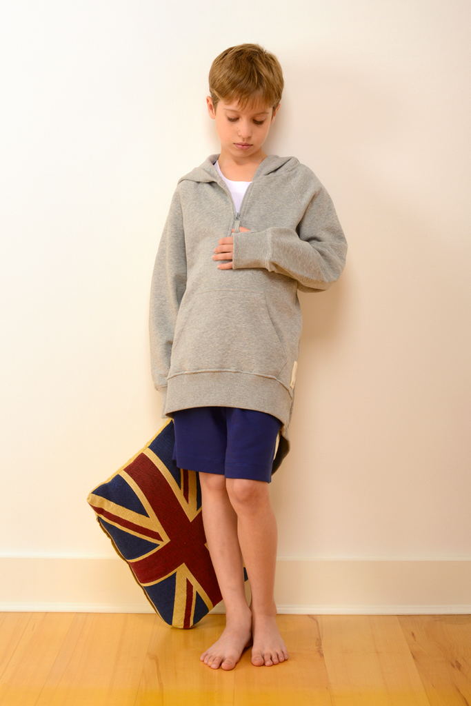 Childrens Bedford Pyjama Shorts in Navy