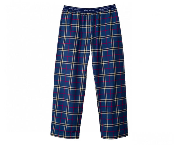 Womens Durham Pyjama Trousers in Navy