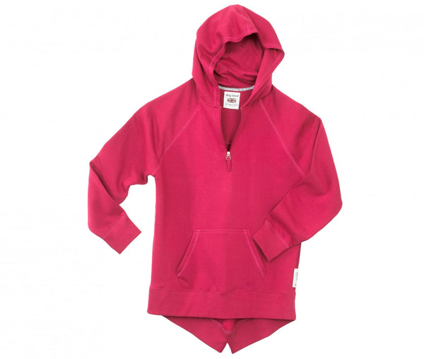 Childrens Breakfast Hoody in Sangria
