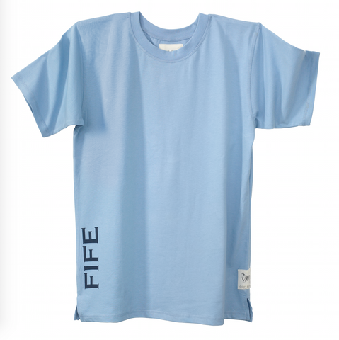Adults Fife County Nightshirt in Cerulean
