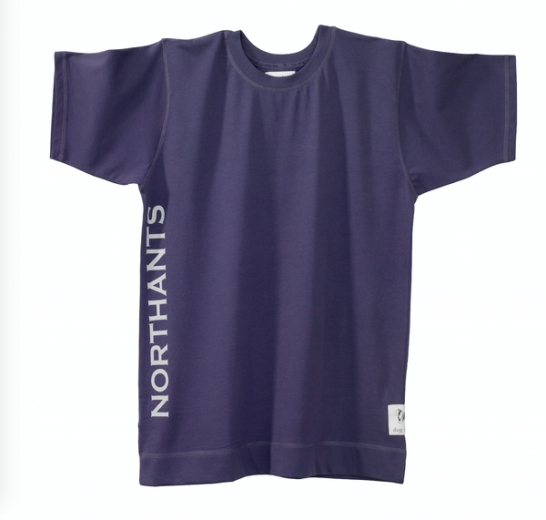 Womens Northamptonshire County Nightshirt in Grape