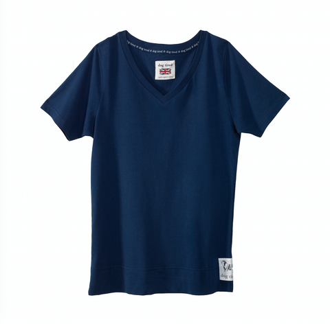Childrens Knighton Pyjama Tee in Navy