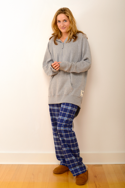 Womens Durham Pyjama Trousers in Blue