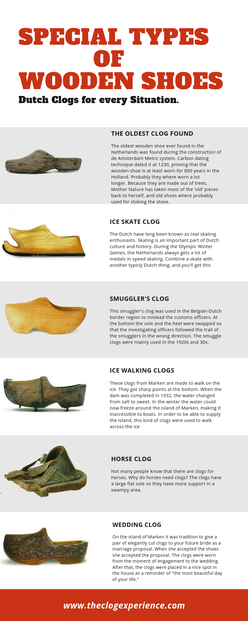 Special Types of Wooden Shoes