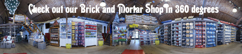 360 degree view of our souvenir shop