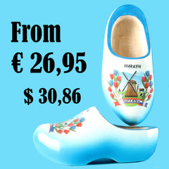 Wooden Shoes Blue
