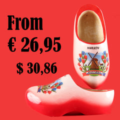 Wooden Shoes Red
