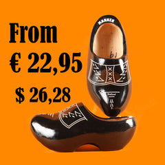 Wooden Shoes Black