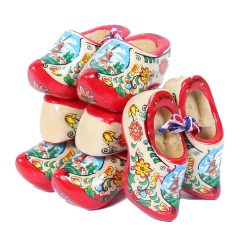 4 Souvenir Clogs, Red Sole, 6 Cm / 2.36 Inch
