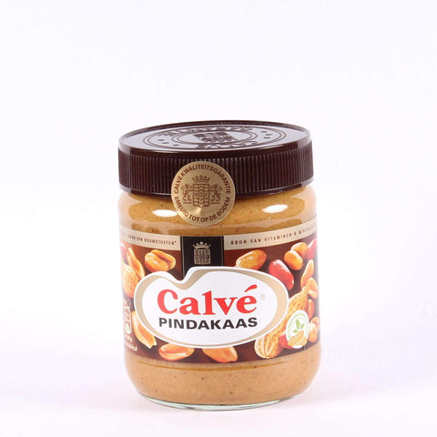 Calvé Pindakaas, Dutch Peanutbutter, Regular Jar