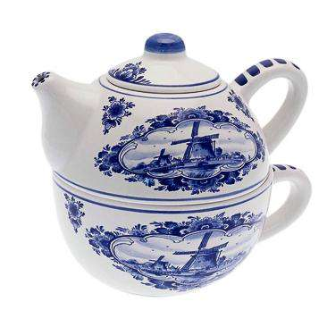 Delft Blue Tea for One Teapot