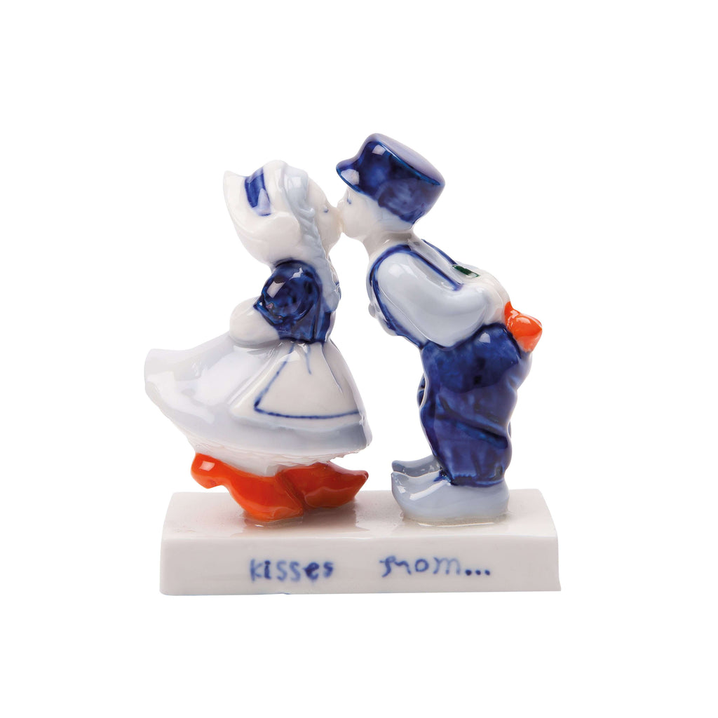 Delft Blue Kissing Couple (5 cm)