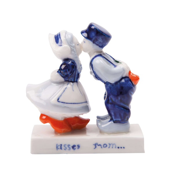Delft Blue Kissing Couple (10 cm)