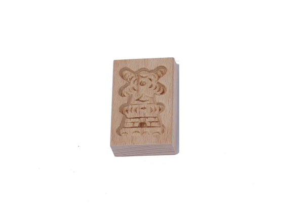 Cookie Mould, Windmill, 7 Cm / 2.7 Inch - Woodenshoefactory Marken