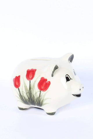 Piggy Bank / Money box, Red Tulip