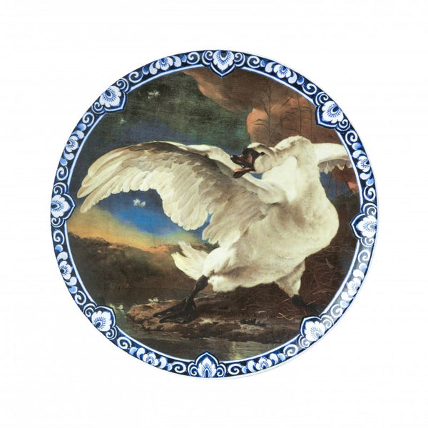 Wall plate 'The Threatened Swan' Jan Asselijn, Large