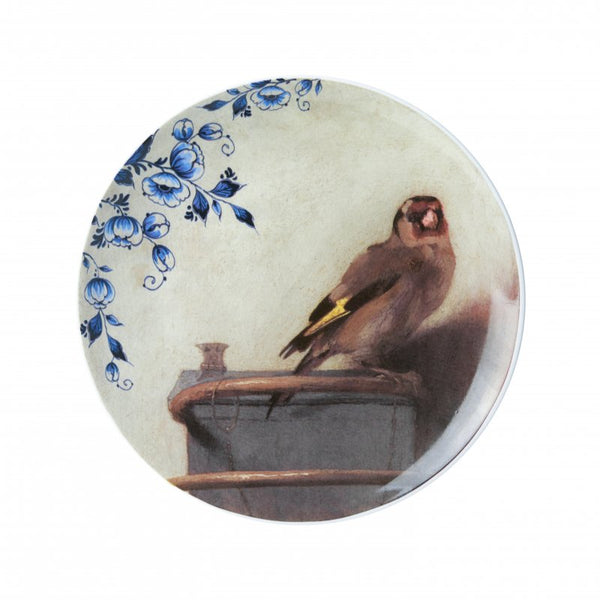 Wall Plate 'The Goldfinch' Carel Fabritius
