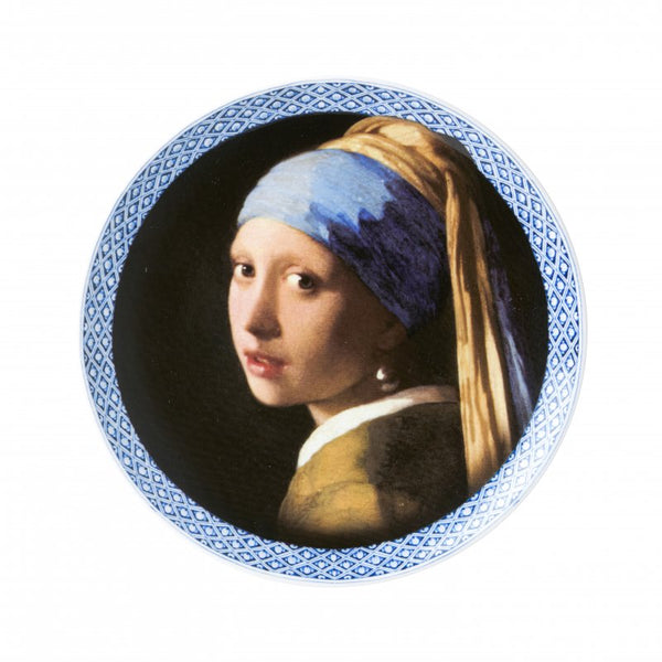 Wall Plate 'Girl with a Pearl Earring' Johannes Vermeer