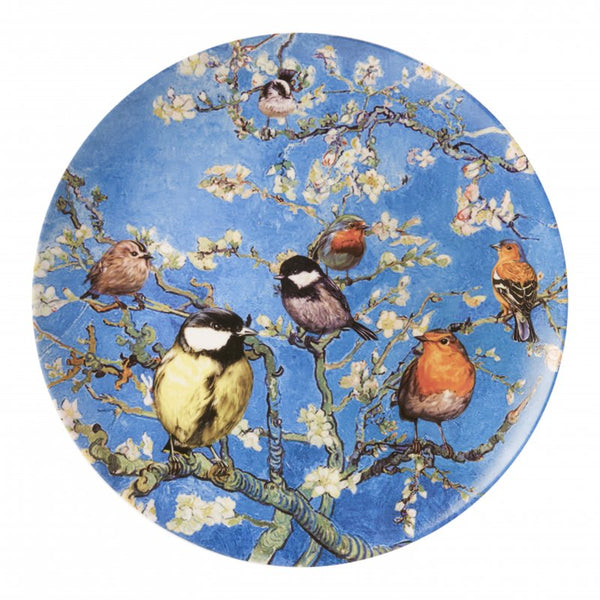 Wall plate Birds by Van Gogh, Large