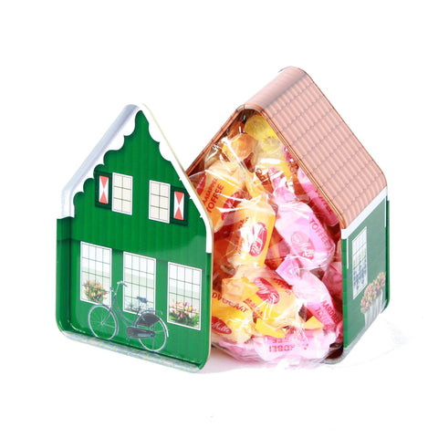 Dutch Fruit Toffee Candy in Holland House Candy Box