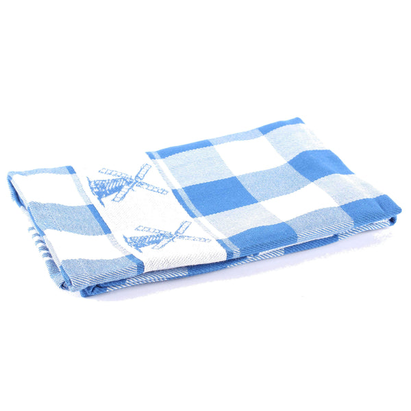 Windmill Blue, Dishtowel