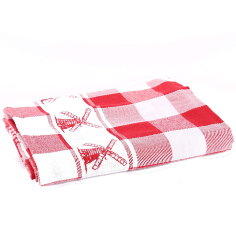 Windmill Red, Dishtowel