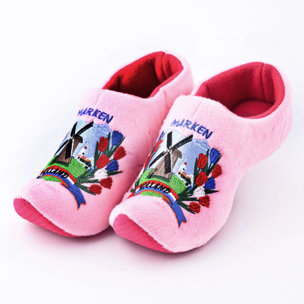 "Soft ""Wooden"" Shoe Pink / Wooden shoe slipper"