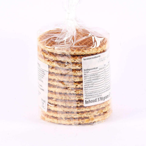 Stroopwafels 12 pack, Butter Syrup, 378 grams