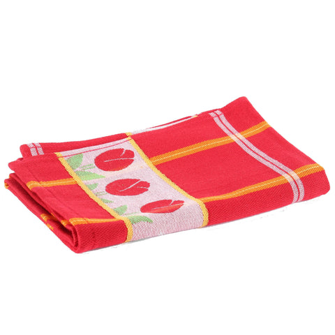 Tulips Red, Dishtowel