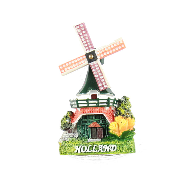 Fridge Magnet Holland Windmill 3