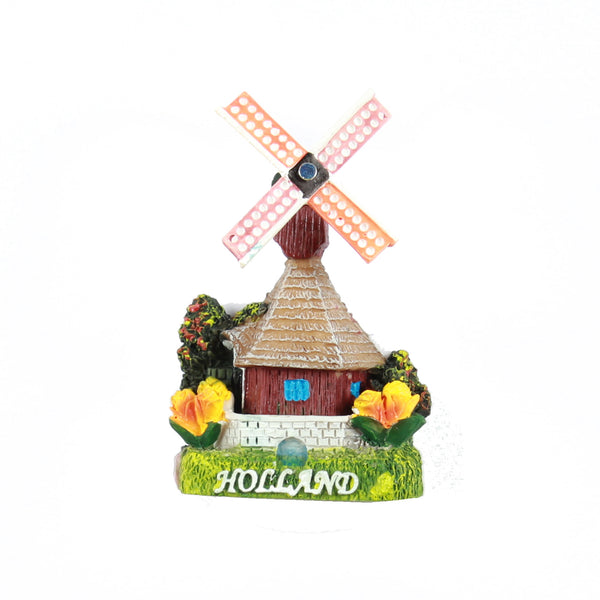 Fridge Magnet Holland Windmill 4