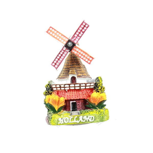 Fridge Magnet Holland Windmill 1