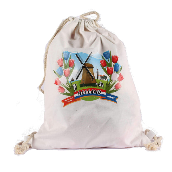 Cotton Bag, Wooden Shoe Factory Marken