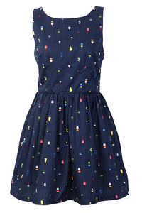 【Back in Stock】Ice Lolly Cute Retro Sundress