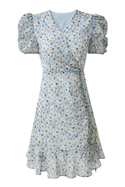V-Neck Daisy Dress