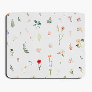 Watercolor Mouse Pad - Fruit / Floral / Toy