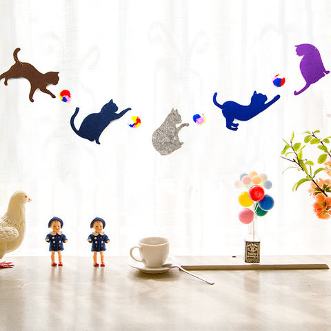 Cats Party Garland