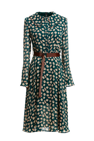 Sweet Cookie Bell Sleeve Dress