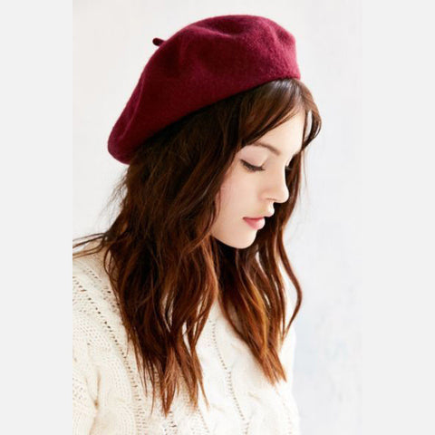 30 Colors Wool Beret