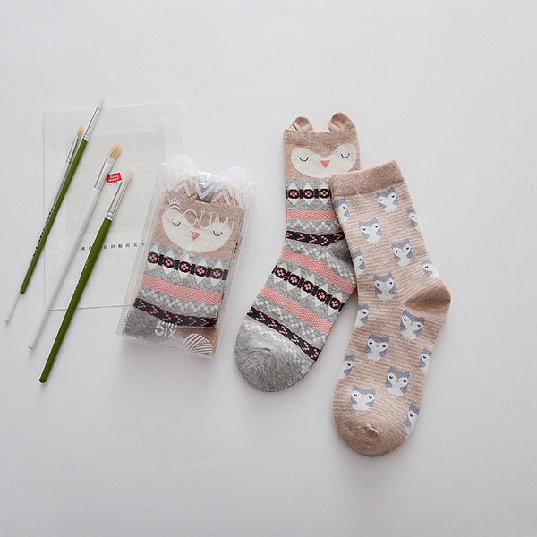 Cotton Ankle Socks - 2 Pack