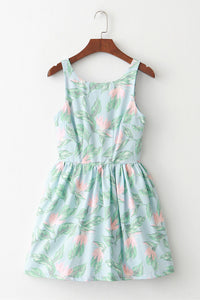 Bird of Paradise Cute Retro Sundress