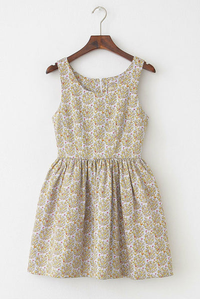 Lucky Fruit Tree Cute Retro Sundress