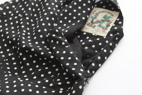 Polka Dots Skater Cute Retro Sundress