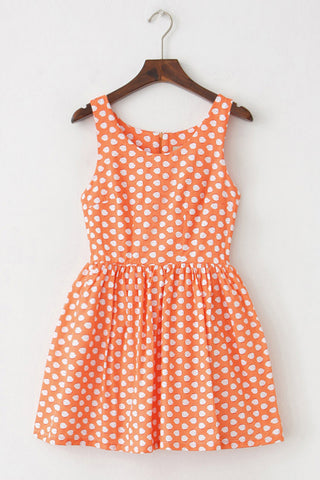 Chicken Print Cute Retro Sundress