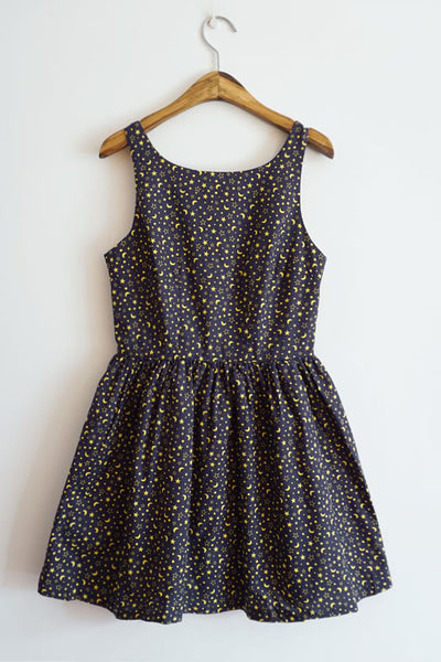 Starry Night Cute Retro Sundress