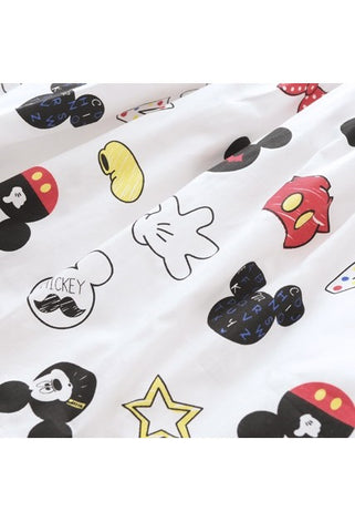 Quirky Mickey Cute Retro Sundress