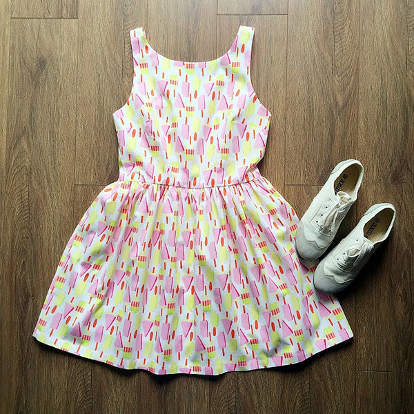 Summer Popsicle Cute Retro Sundress