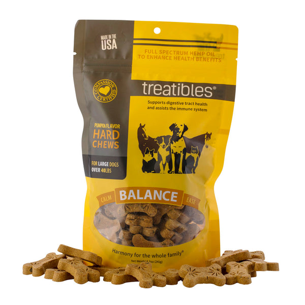 Treatibles® | Large Pumpkin Grain Free Chews