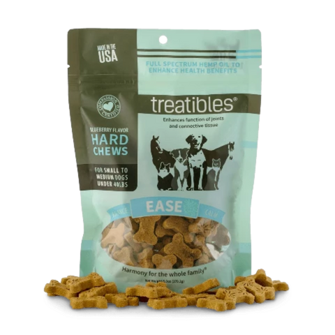 1 mg Treatibles® | Blueberry CBD Chews (Full Size Bag 75 Ct.)