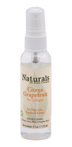 2.5 oz. Naturals™ | Citrus-Grapefruit Pet Cologne